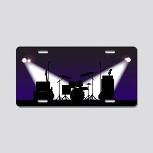 Rock Band Stage Equipent Aluminum License Plate