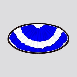 Scottish Blue and White Bunting Patch