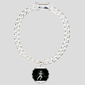 Runners Pulse Charm Bracelet, One Charm