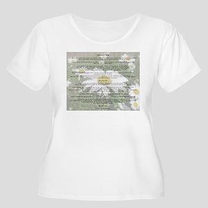 desiderataWdaisy Plus Size T-Shirt