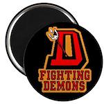 Fighting Demons Magnet