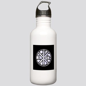 Alpha Omega Glass Wind Stainless Water Bottle 1.0L