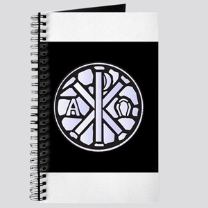 Alpha Omega Glass Window Journal