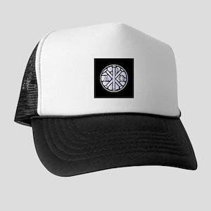 Alpha Omega Glass Window Trucker Hat