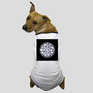 Alpha Omega Glass Window Dog T-Shirt