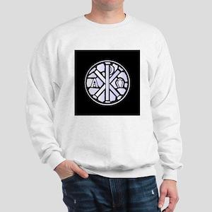 Alpha Omega Glass Window Sweatshirt