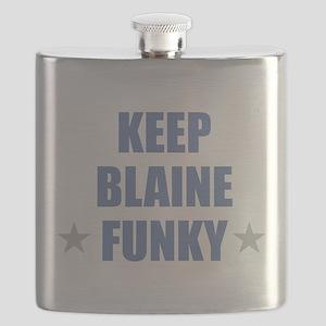 KEEP BLAINE FUNKY Flask