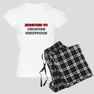 Addicted to Croatian Sheepd Women's Light Pajamas