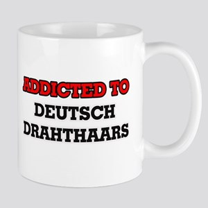 Addicted to Deutsch Drahthaars Mugs