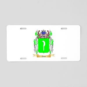 Zeder Aluminum License Plate