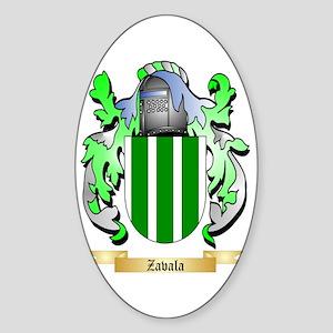 Zavala Sticker (Oval)