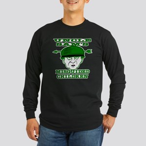 Uncle Sam's Misguided Childre Long Sleeve Dark T-S