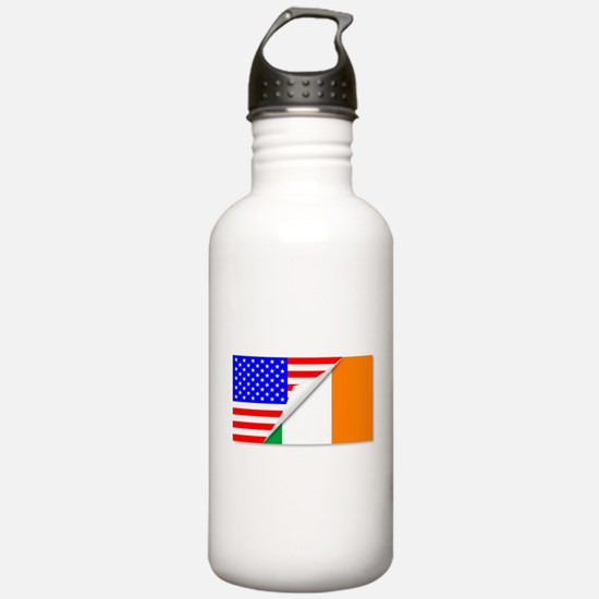 United States and Eire Water Bottle