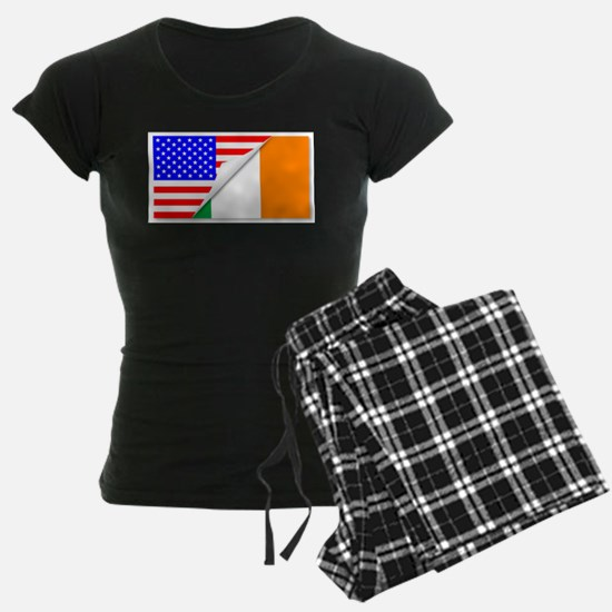 United States and Eire Flags Pajamas