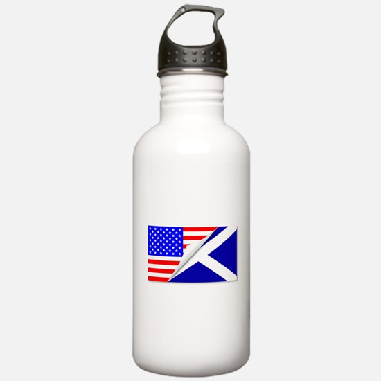 United States and Scot Water Bottle