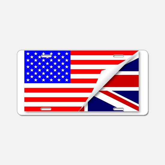 The Special Relationship Aluminum License Plate