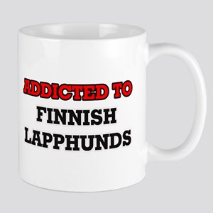 Addicted to Finnish Lapphunds Mugs