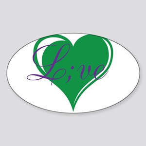 mental health awareness live Sticker