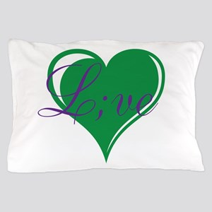 mental health awareness live Pillow Case