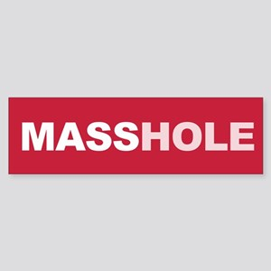 Masshole Bumper Sticker