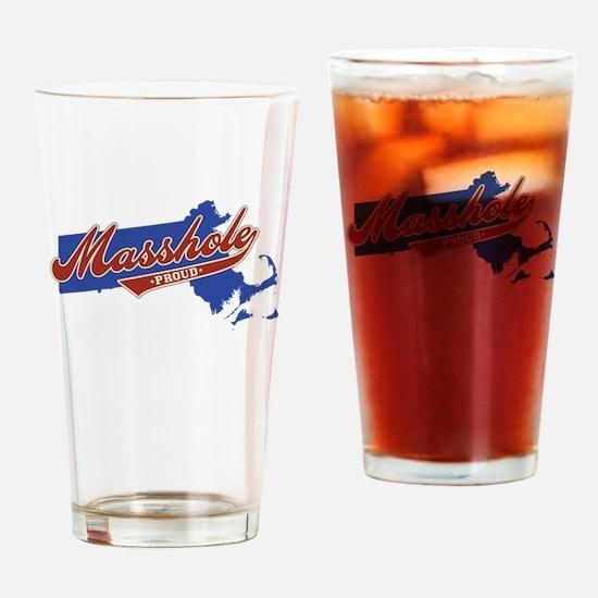 Masshole Drinking Glass