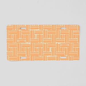 Parquet Flooring Aluminum License Plate