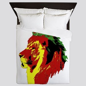 Lion Of Zion Queen Duvet