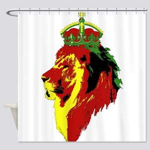 Lion Of Zion Shower Curtain