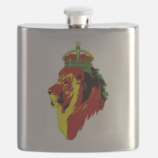 Lion Of Zion Flask