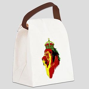 Lion Of Zion Canvas Lunch Bag