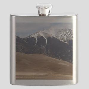 Sand Dunes Colorado Flask