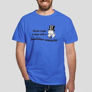 Handlebar Mustache Dark T-Shirt