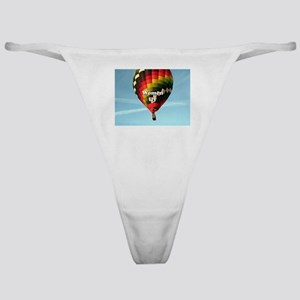 Women fly: hot air balloon Classic Thong