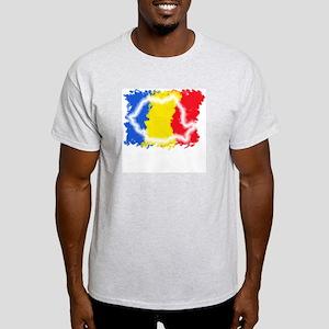 Map - Light T-Shirt