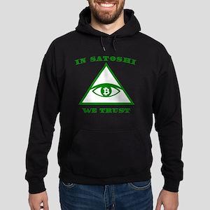 Bitcoin In Satoshi Nakamoto We Trust Cr Sweatshirt