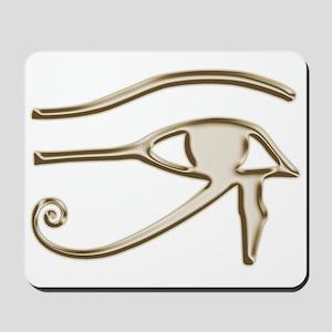 Golden Eye Of Horus Mousepad