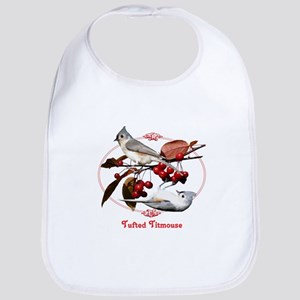 Tufted Titmouse Bib