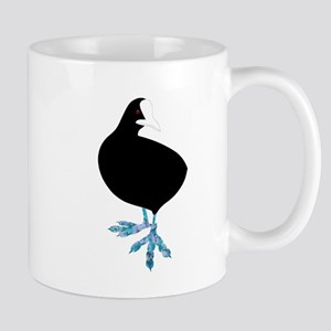 Common Coot - the Abstract Bird Mugs