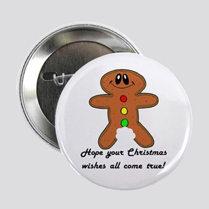"Christmas Wishes 2.25"" Button"