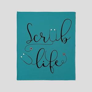 Scrub Life Throw Blanket