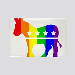 Democratic Pride Magnets