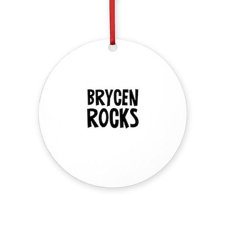 Brycen Rocks Ornament (Round)