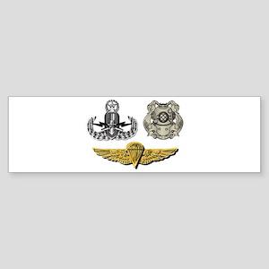 Navy - EOD Master, Diver 1st Clas Sticker (Bumper)