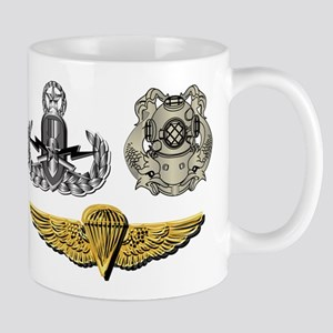 Navy - EOD Master, Diver 1st Class, Par Mug