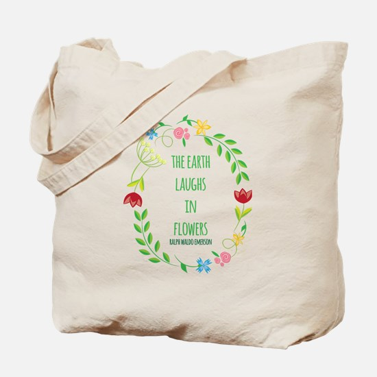 Cute Ralph waldo emerson Tote Bag