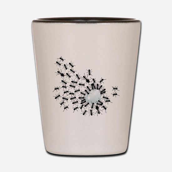 Cute Insects Shot Glass