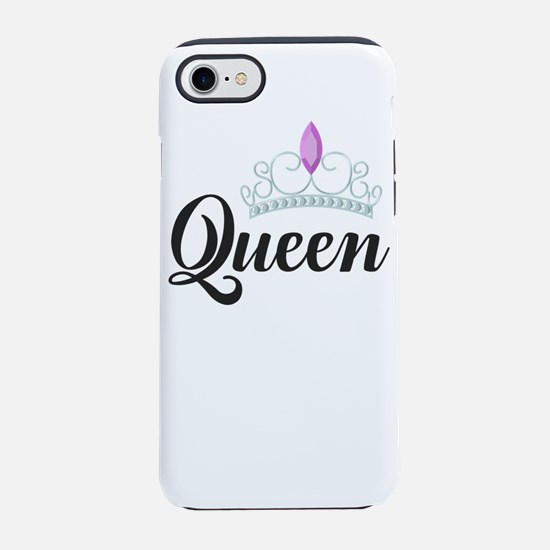 king and queen couple iPhone 8/7 Tough Case
