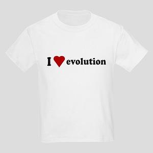 I Love Evolution Kids Light T-Shirt