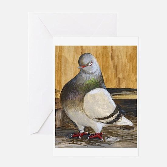 Barred Flight Pigeon Greeting Card