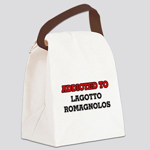 Addicted to Lagotto Romagnolos Canvas Lunch Bag